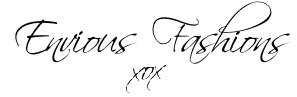 Envious Fashions Online fashion boutique store - signature