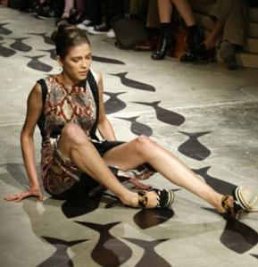 falling-model-on-catwalk