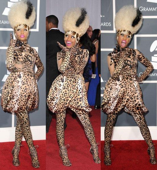 Women's Top Fashion Trend Fails…According to Men PART 2 ...Nicki Minaj In Leopard Print