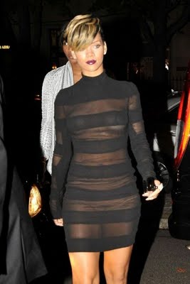 Rihanna-see-through-black-dress