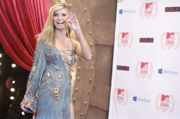 Heidi Klum dress