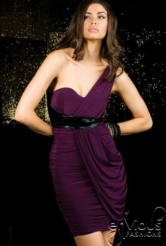 purple-cocktail-dress