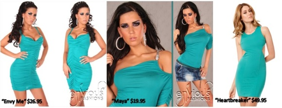 teal-dresses-envious-fashions
