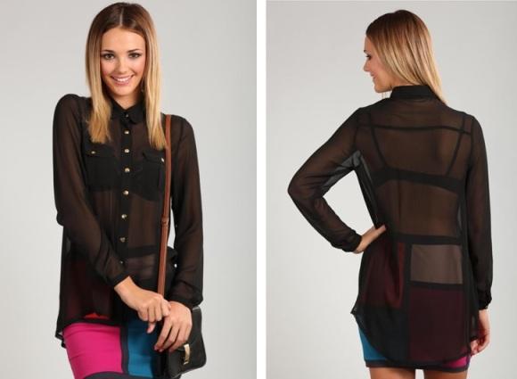 sheer-black-chiffon-blouse