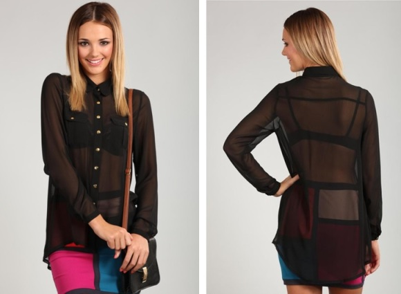 sheer-black-chiffon-blouse