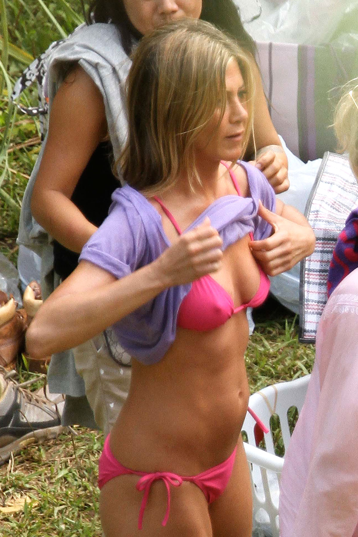 from Kingsley sexy jennifer aniston pictures