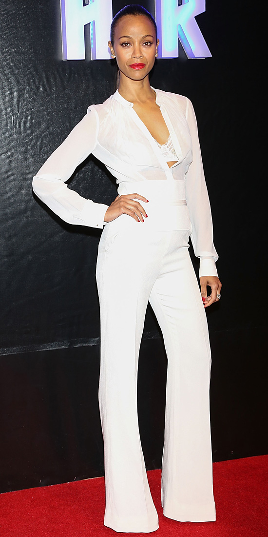 zoe-saldana-all-white-suit-outfit-fashion