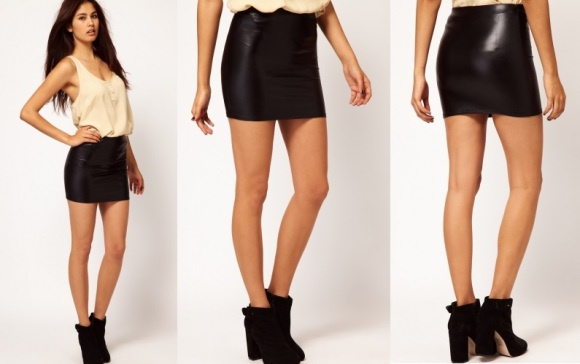 leather-wet-look-bodycon-skirt
