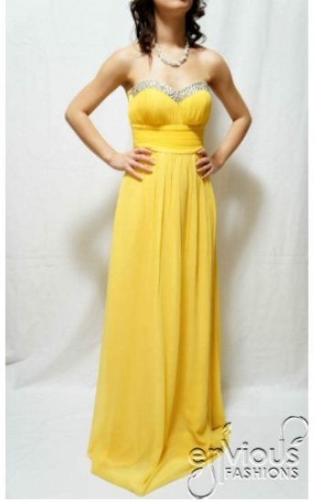 yellow-evening-gown