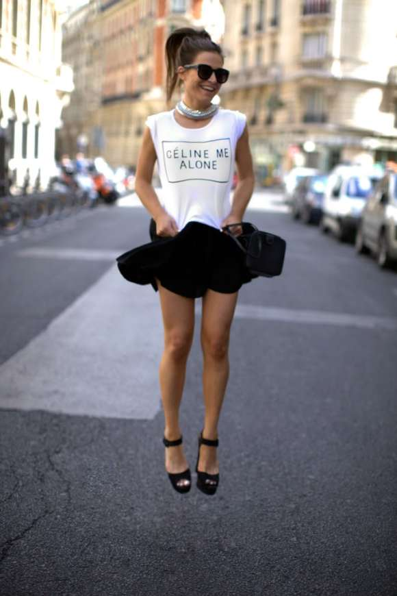 be-frassy-fashion-blogger-celine-me-alone-slogan-tee