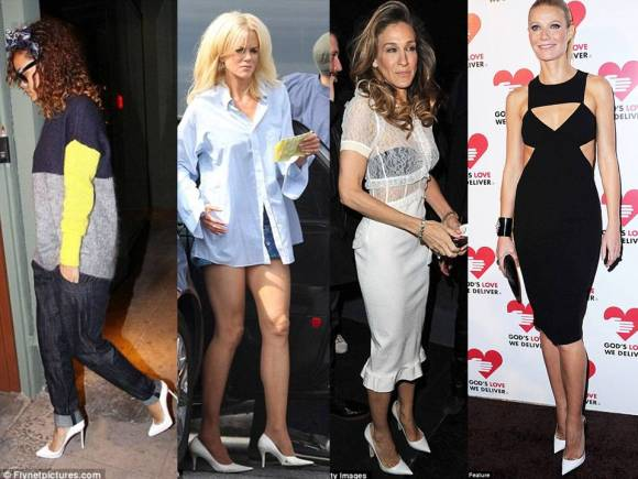 celebrities-wearing-white-pumps-point-toe-white-pumps
