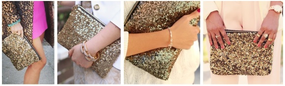 gold sequin clutches online