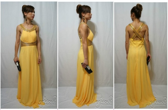 Yellow Evening Dress Under $100 Australia
