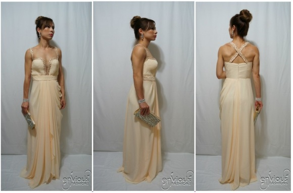 Ivory Evening Dresses Under $100 Cheap