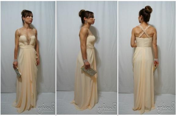 Ivory Evening Dresses Under $100 Cheap