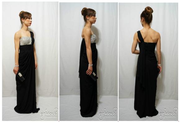 black evening dress under $100