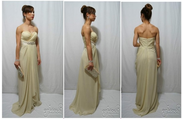 Strapless evening gown under $100 Australia